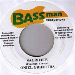Oniel Griffiths - Sacrifice Album