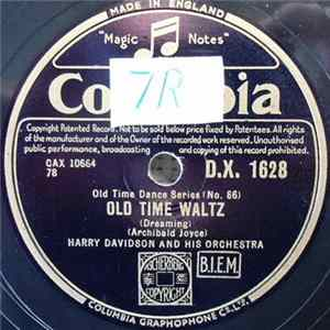 Harry Davidson And His Orchestra - Old Time Waltz / Gipsy Tango Album