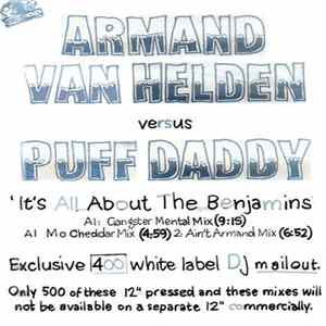 Armand Van Helden Vs. Puff Daddy & The Family - It's All About The Benjamins Album