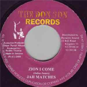 Jah Matches - Zion I Come Album