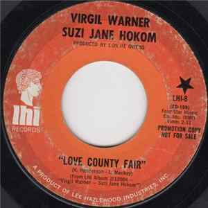 Virgil Warner & Suzi Jane Hokom - Love County Fair/Angel Of The Morning Album