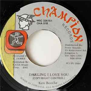 Ken Boothe - Darling I Love You Album